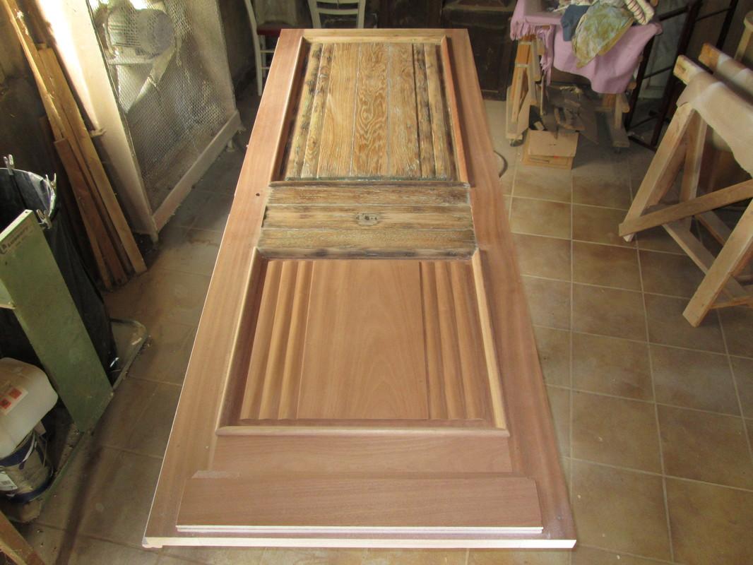 Restauration de meubles, portes en bois près de Barbezieux