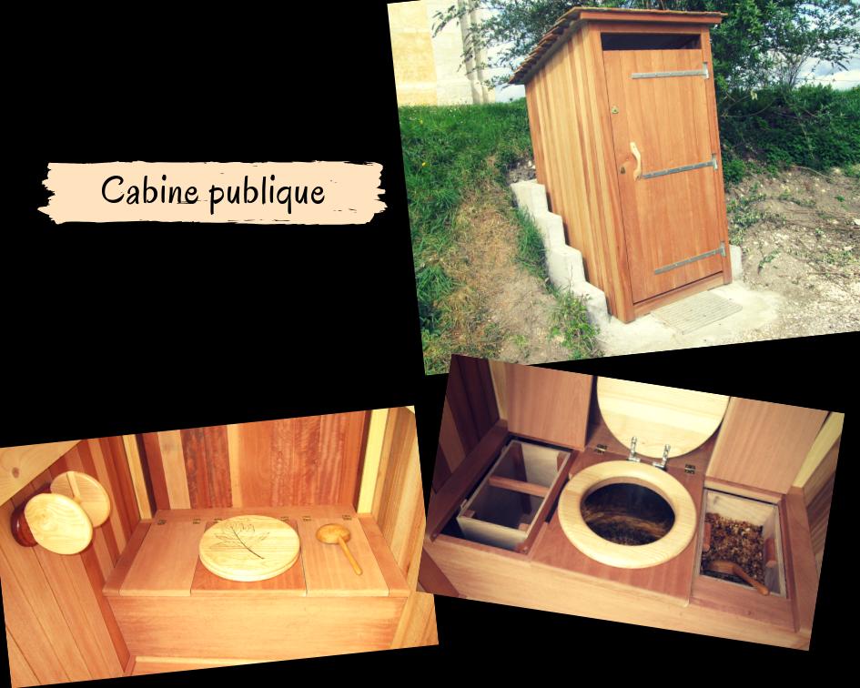 Toilettes sèches publiques